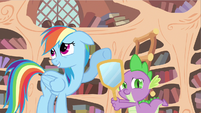 Rainbow Dash tooo bad S2E20
