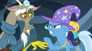 Discord vs. Trixie S6E25