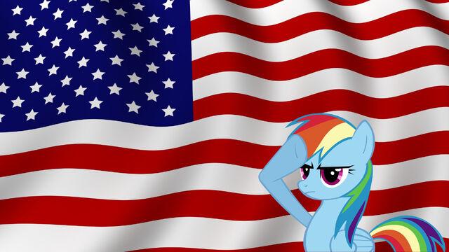 File:FANMADE Rainbow Dash salutes America.jpg