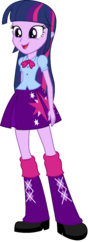 FANMADE Twilight-Sparkle-EqG standing vector