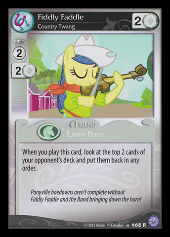 File:Fiddly Faddle, Country Twang card MLP CCG.jpg