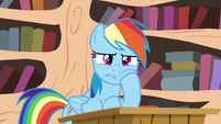 Rainbow not excited S4E21