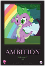 "Spike ""Ambition"" poster from ComicCon 2012"