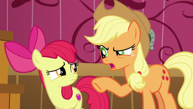 "File:Applejack ""why in tarnation would you lie"" S6E23.png"