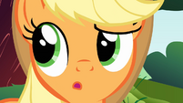 Applejack 'I never told you that story' S1E23