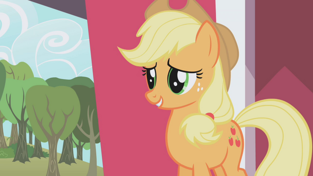 File:Applejack apologizing S01E04.png
