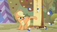 Applejack smashed it S01E13