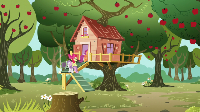 File:Cutie Mark Crusaders return to the clubhouse S7E6.png