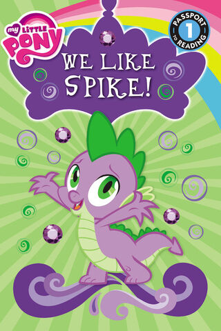 File:My Little Pony We Like Spike! storybook cover.jpg