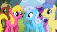 Ponies nodding in agreement S2E15