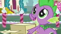 "Spike with awestruck eyes ""so generous"" S7E9"