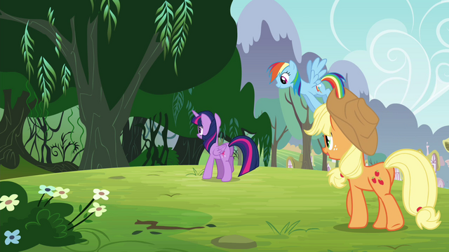 File:Twilight's friends follow her S4E25.png