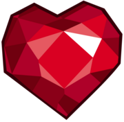 FANMADE The heart-shaped Fire Ruby