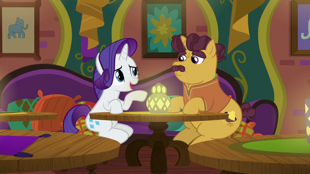"""File:Rarity singing """"be what they want you to be"""" S6E12.png"""