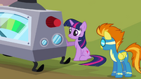 Twilight ready with the machine S2E22