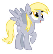 FANMADE Derpy Hooves vector by durpy