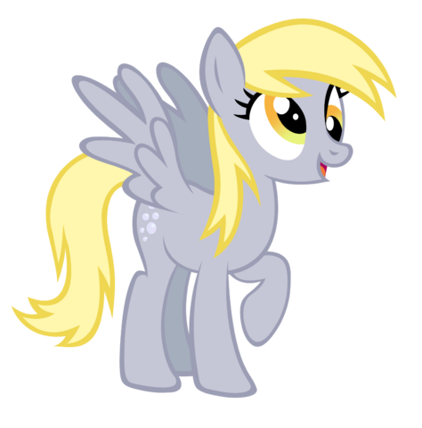 File:FANMADE Derpy Hooves vector by durpy.png