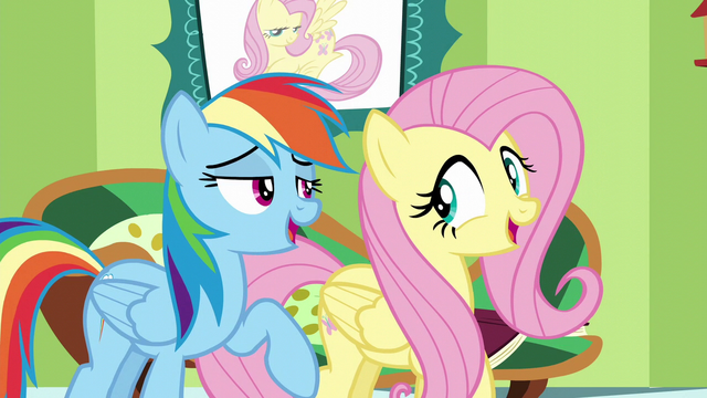 """File:Fluttershy and Rainbow """"everything that you've got"""" S6E11.png"""