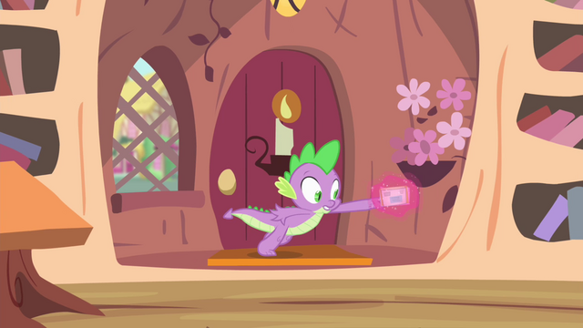 File:Mail getting pulled from Spike's hand S4E11.png