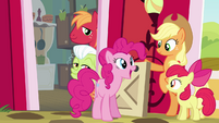 "Pinkie Pie ""already super-happy as a Pie"" S4E09"