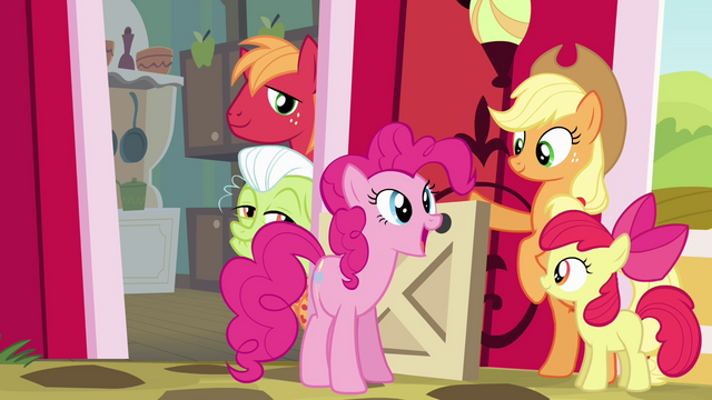 "File:Pinkie Pie ""already super-happy as a Pie"" S4E09.png"