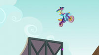 Rainbow jumps ramp as rift opens underneath EG3