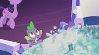 """Spike """"where'd she go?"""" S5E25"""