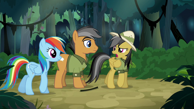 "File:Daring Do ""who are you again?"" S6E13.png"