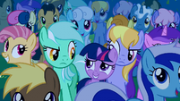 Filly Twilight and Lyra Heartstrings clone S1E23