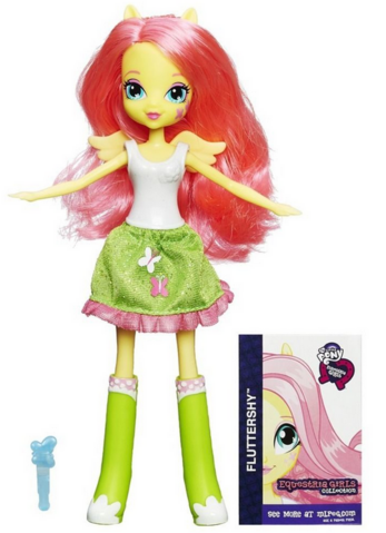 File:Fluttershy Equestria Girls show attire doll.png