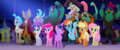 Ponies, pirates, and Capper cheering MLPTM.png
