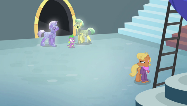 File:Royal guards approaching Spike S4E24.png