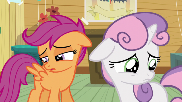File:Scootaloo and Sweetie are still blank flanks S5E4.png