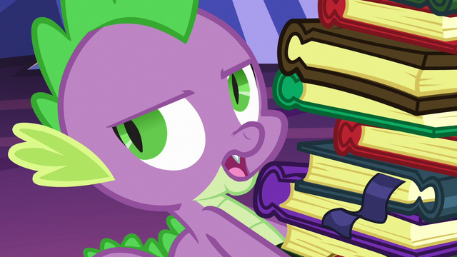 """File:Spike """"sure, keep telling yourself that"""" S6E21.png"""