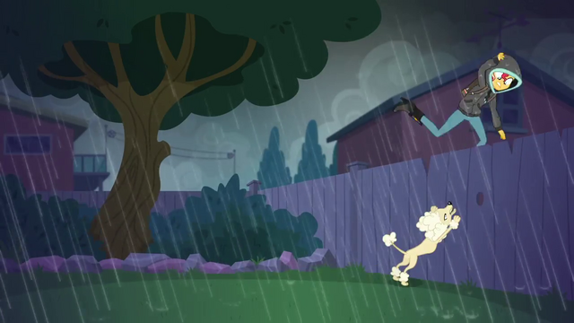 File:Sunset Shimmer hopping over a fence SS6.png