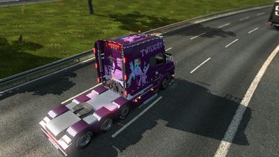 FANMADE ETS2 Scania T Twilight Skin 1