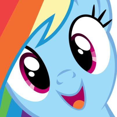 File:FANMADE Rainbow Dash closeup.jpg