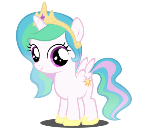 File:FANMADE Young Princess Celestia.png