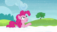 "Pinkie ""Just like Yakyakistan snow"" S5E11"