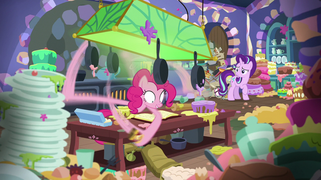 File:Pinkie Pie still following Starlight's orders S6E21.png