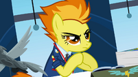 Spitfire focusing on Rainbow S3E7
