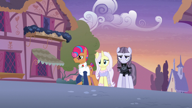 File:Starstreak, Lily, and Inky walking through Ponyville S7E9.png