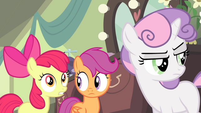 "File:Apple Bloom ""we wanted everything to be perfect!"" S4E19.png"