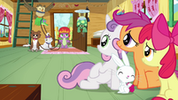 CMC and Angel sees Spike S3E11