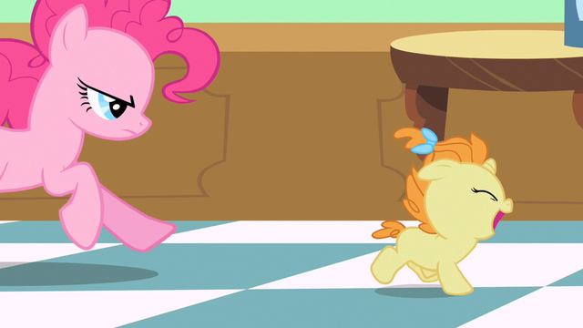 File:Pinkie Pie chasing Pumpkin Cake S2E13.png