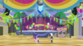 Rainbooms auditioning in the gymnasium EGS1.png