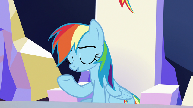 """File:Rainbow Dash """"you were pretty awful"""" S6E25.png"""
