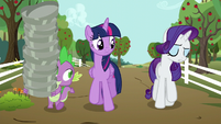 "Rarity ""I have been trying..."" S6E10"