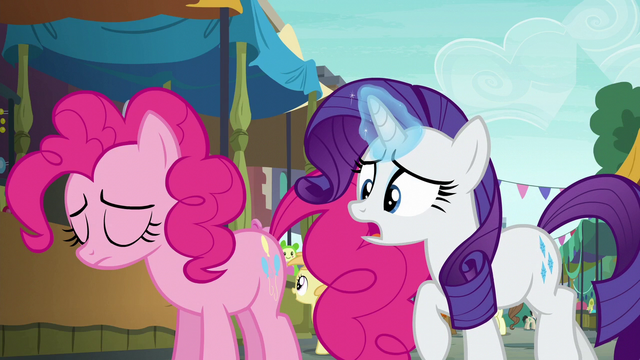 """File:Rarity """"that party cannon is your everything!"""" S6E3.png"""