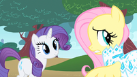 Rarity & Fluttershy captured emotions S1E20